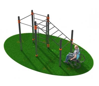 Спортивный комплекс, адаптированный для  инвалидов-колясочников  СВС-124, фото 1