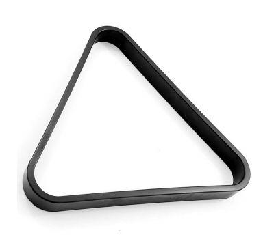 Треугольник 68 мм Rus Pro черный пластик, фото 1