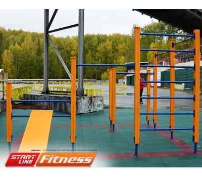Уличный спортивный комплекс START LINE Fitness № 17, фото 4