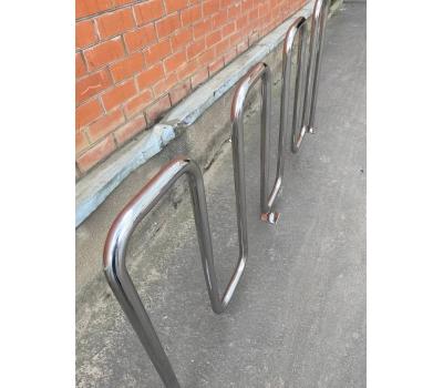 Велопарковка «Квадро» из нержавеющей стали, фото 5