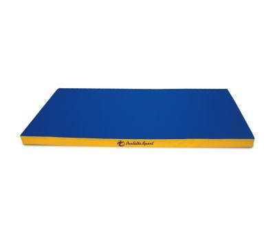 Мат № 9 (100 х 150 х 10) PERFETTO SPORT сине/жёлтый, фото 1