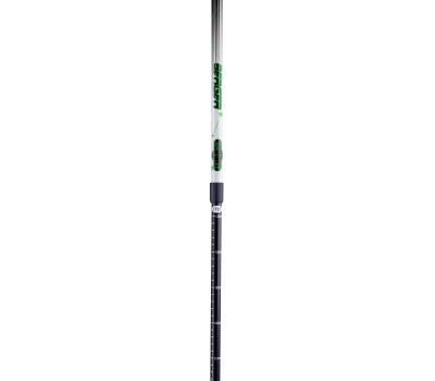 Палки для скандинавской ходьбы Starfall, 77-135 см, 2-секционные, чёрный/белый/ярко-зелёный, фото 3