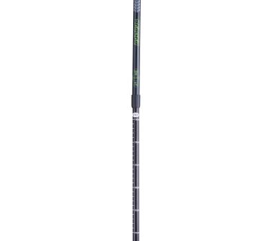Палки для скандинавской ходьбы Longway, 77-135 см, 2-секционные, чёрный/ярко-зелёный, фото 2