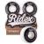 Комплект колес для скейтборда SB, 52*32, белый/черный, 4 шт., фото 1